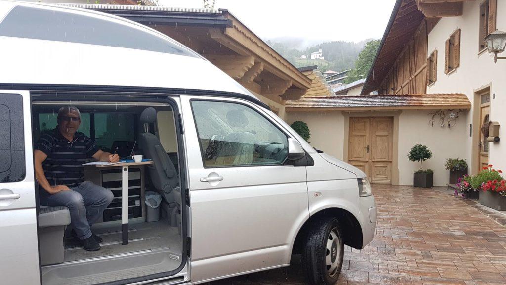 Mobiles Büro Baustelle Thaur 1